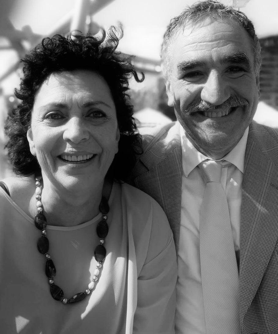 Serafino e Chiara Bueti